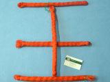 正品新料 塑料绳 红色工地用测量绳 施工 瓦匠 劳保 厂家直销