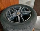 汽车轮毂和轮胎4个