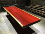 实木大板红花梨实木餐桌会议桌休闲桌办公桌大班台