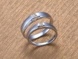 武汉久福源珠宝,定制钻戒婚戒对戒,钻石情侣对戒2888元