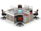 办公屏风桌椅定做 高隔屏风定做 办公家具定做
