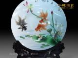 尺寸大的纪念盘价格是多少 百岁寿诞礼品大规格陶瓷盘款式
