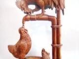 红木雕刻工艺品十二生肖动物摆件 家居装饰