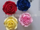 进口 可食用蛋糕装饰 翻糖花 塑型糖花 R-5L 玫瑰 成品花
