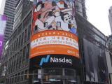 厉害了!美国纳斯达克LED屏告诉你,选择美国纽约时代广场LE