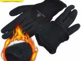 代尔塔手套防寒浸胶加绒加厚耐磨骑行保暖零下30度冷库劳保