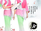 2015新款儿童表演服 女童秧歌服 书童服弟子规 三字经国学服装