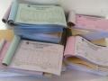 嘉善收据销售印刷/无碳三四联单/嘉善便签复写单制作