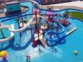 商洛 游泳池防水漆 景观池 水池防水工程施工涂料