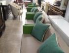 上海永帮二手办公家具简约现代沙发组合1200元起