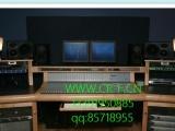 录音棚录音控制台,工作台,录音桌,编曲操作台。