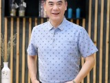2018春夏新款男士T恤中老年男装宽松休闲衣服短袖男式t恤