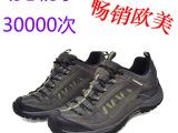 批发可定制专业防水防滑耐磨头层牛皮 外贸男登山鞋户外鞋徙步鞋