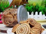 易拉罐装 香脆猫耳朵 脆毛耳酥120克 微商饼干食品批发