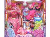 PVC盒芭2只庄比娃娃美少女换装饰品玩具