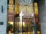 不銹鋼玻璃門生產廠家 制作安裝旋轉門 自動感應門