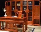 南宁缅甸花梨办公桌