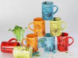 简约风格 纯色陶瓷杯 可定制印logo 马克杯 手绘杯盎司马克杯