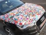 汽车涂鸦改色膜广州生产厂家 车身涂鸦装饰贴膜批发