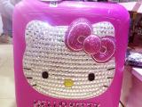 2014新款时尚18寸kitty行李箱 纯手工镶钻kitty猫行