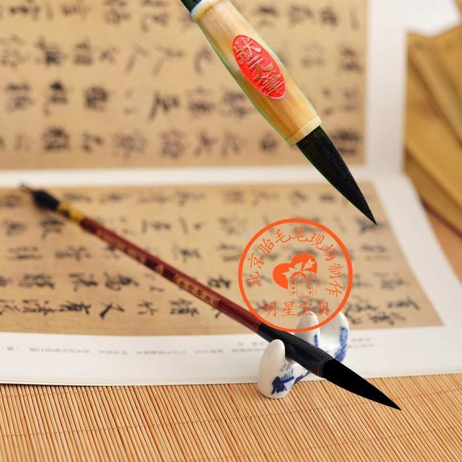 北京上门理胎毛 定做脐带章 手足印 现场制作胎毛笔