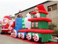 圣诞充气活动道具充气圣诞老人圣诞树拱门厂家直销