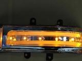 丰田RAV4倒车后视镜 转向灯壳 后视镜壳LED转向灯条 二功能