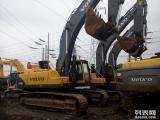 兰州二手挖掘机市场,新款沃尔沃210B 290 360特价