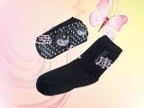 供应负离子远红外白袜子、磁动力黑袜子【新品促销】 保健袜批发