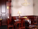 西贝皇家公馆 龙吟轩系列餐厅全套实木家具