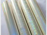 供应透明镭射烫金纸 电化铝 烫金材料 烫印箔
