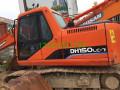 二手斗山150挖掘机个人转让,二手挖掘机价格