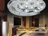 最新款现代时尚水晶吸顶灯客厅灯卧室灯餐厅酒店酒吧灯具灯饰批发