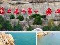 暑假青岛崂山蓬莱威海三日游,带老人孩子跟团游c