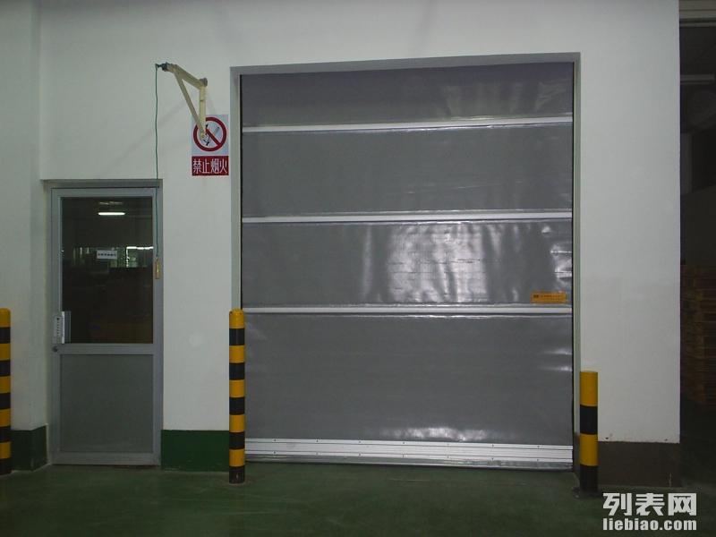 惠州新型材pvc快速卷帘门精美设计图纸