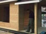 甘肃玛曲防腐木地板和夏河防腐木木屋别墅价格