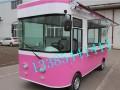 2017新款街景电动餐车移动小吃车流动超市多功能流动餐车