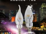 led灯泡E14螺口4w Led超亮尖泡蜡烛灯泡led节能灯泡光