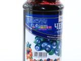 正品进口俄罗斯蓝莓酱 野生蓝莓酱 都柿酱 面包酱西餐蓝莓野果酱