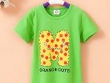 2014儿童卡通短袖T恤 夏季童装  男童女童装厂家直销童装批发