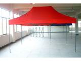 最新浙江帐篷厂家超低价烤白漆铁管支架带防热防水 广告帐篷 推荐