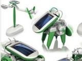 6合1太阳能创意玩具 六合一组装拼装玩具 开学儿童礼物