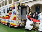 深圳广州东莞佛山香港重症病人远程护送的福特监护型救护车出租