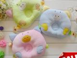 婴儿定型枕 宝宝枕头 儿童枕头 纠正防偏头 新生儿必备可爱小猪款