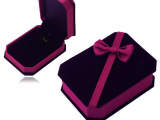 高档绒布银饰 吊坠 项链 首饰盒 礼品盒 精致质量保证 一件代发