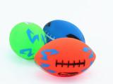 荧光橄榄球玩具 儿童球类玩具 荧光球 玩
