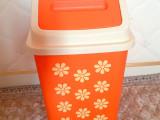 厂家直销 新款翻盖垃圾收纳卫生桶全新塑料 10元店日用百货配货