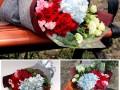 沈阳鲜花店室内绿植开业花篮配送 鲜花礼盒