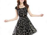 2014夏装新款韩版ol气质修身碎花蝴蝶结雪纺连衣裙甜美公主裙