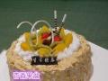 邗江区金鹰国际购物连锁外送蛋糕同城速递扬州蛋糕配送